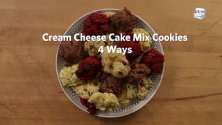 Cream Cheese Cake Mix Cookies