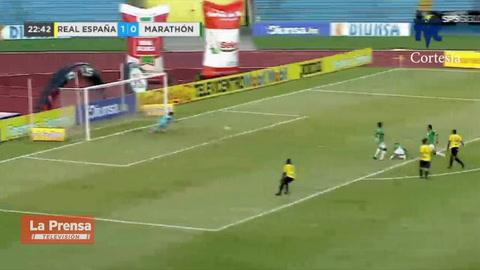 Real España 2-3 Marathón (Liga Nacional)