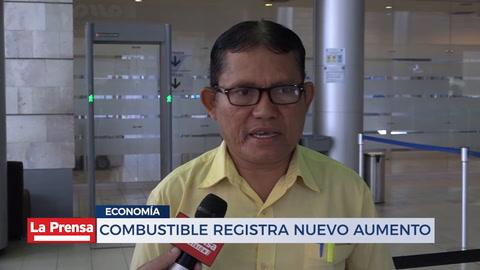 Combustible registra nuevo aumento