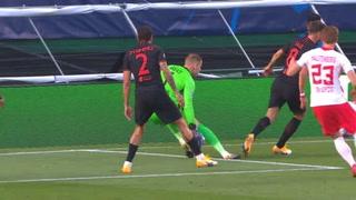 ¡El Cholo Simeone lo pidió a gritos! El penal que no le cantaron al Atlético ante Leipzig en Champions