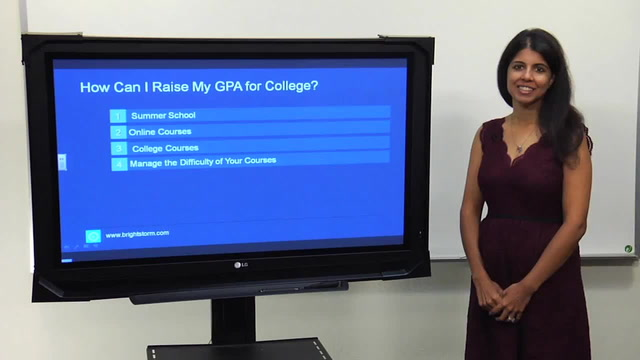How Can I Raise My GPA for College?