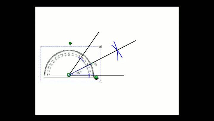 Matte: Hvordan få til halvering av vinkel