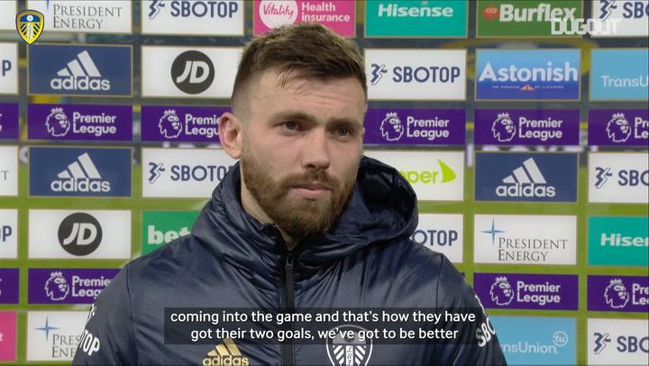 Stuart Dallas on West Ham defeat