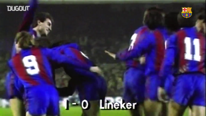 When Gary Lineker Downed Real Madrid