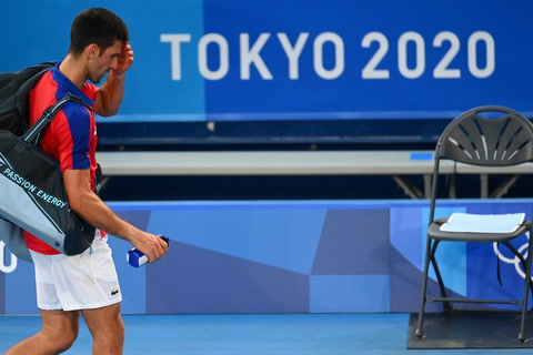 Djokovic perdió la medalla de bronce en Tokio-2020 contra Pablo Carreño