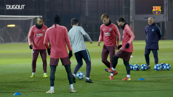 Behind The Scenes: Barça Welcome Spurs To The Camp Nou