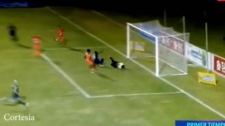 Rubilio Castillo anotó el primer gol del torneo Apertura en Honduras