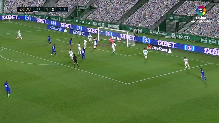 Gol de Cucurella (1-1) en el Elche 1-3 Getafe