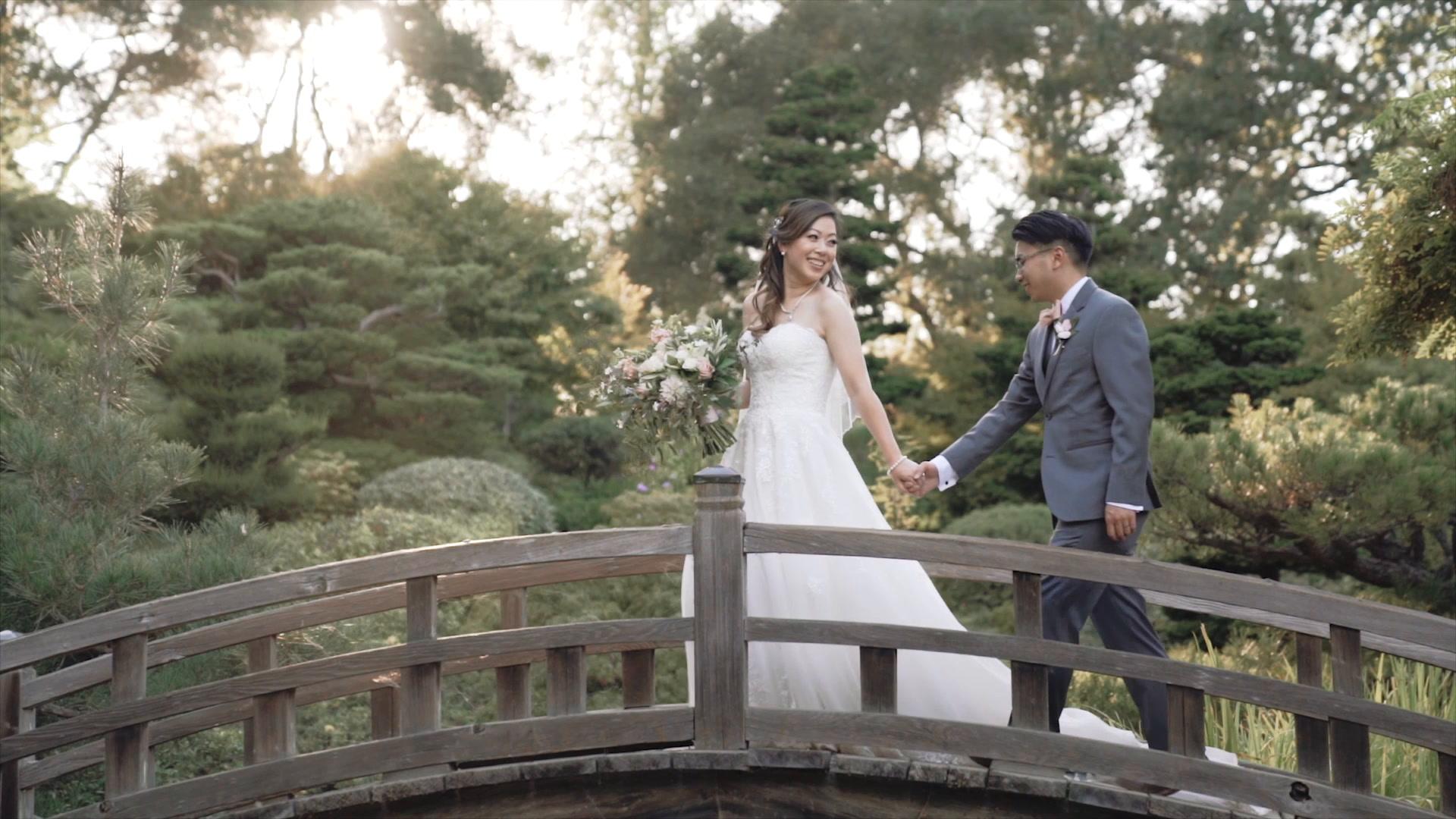 Jenny + Minh | Saratoga, California | Hakone Estate Gardens