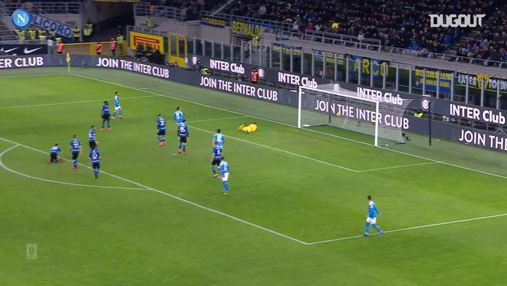 Los goles de Fabián Ruiz con el Nápoles