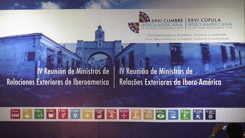 Crisis migratoria, telón de fondo a Cumbre Iberoamericana