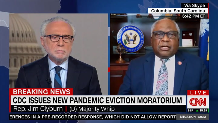 Clyburn on Whether Cuomo Should Be Impeached: 'I Hate to Pile On' - He Should Resign