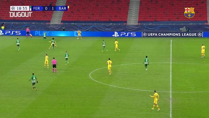 El gran gol de Martin Braithwaite ante el Ferencváros