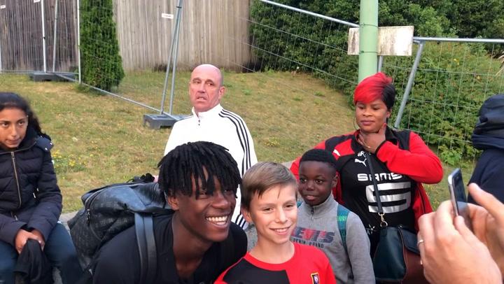 Camavinga ya es un ídolo en el Rennes con sólo 16 años