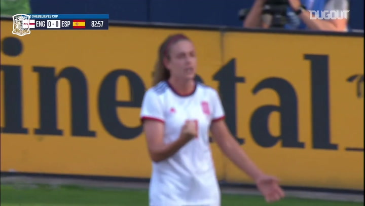 Alexia Putellas garante vitória da Espanha sobre Inglaterra