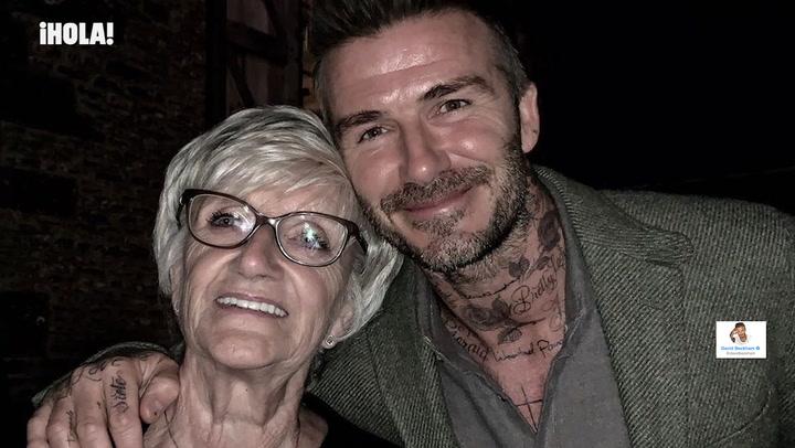 David Beckham reúne a su familia en el cumpleaños de su madre, ¿viajará a la boda de Sergio Ramos?