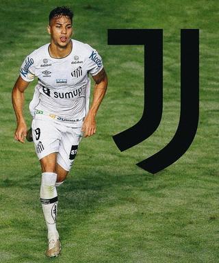 Juventus fichó a una de las mejores joyas del fútbol de Brasil: Kaio Jorge del Santos