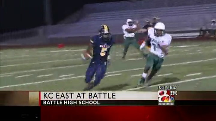 Kansas City East at Battle, Week 1