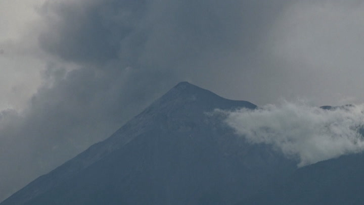 Ash rises from volcano in Guatemala