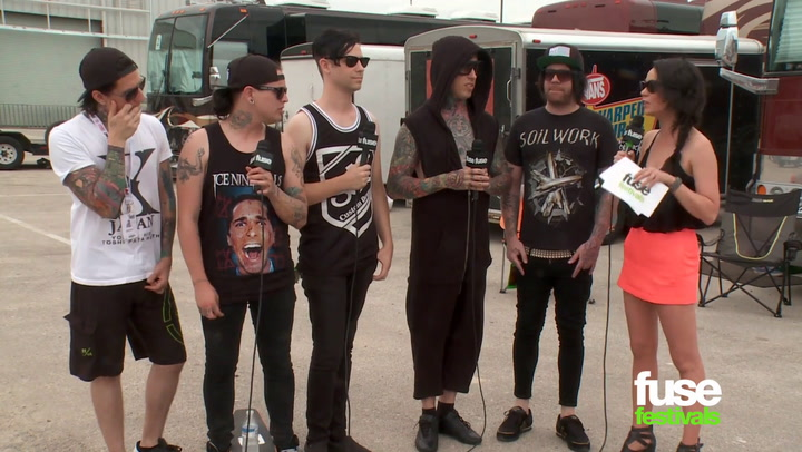 Interviews: Falling In Reverse at Warped Tour 2014