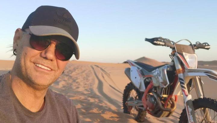 Nacho Vidal quiere correr el próximo Dakar