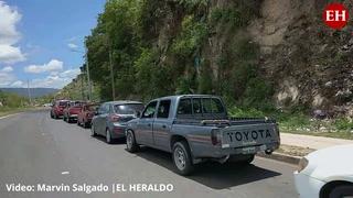 Honduras: Enormes filas en los puntos de vacunación contra el covid-19