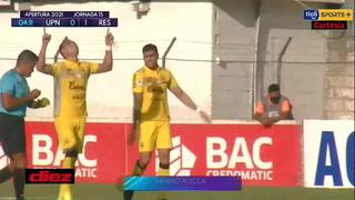 Ramiro Rocca sorprende a la UPNFM y pone a ganar a Real España en el Marcelo Tinoco