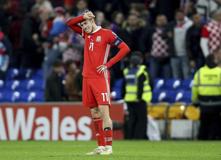 Gareth Bale acaba el partido de Gales ante Croacia cojeando