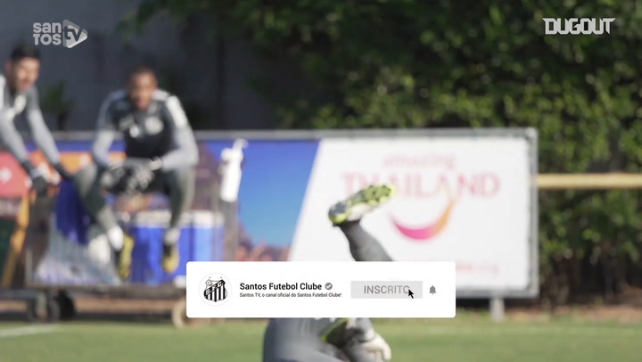 Santos back in training after Santo André draw