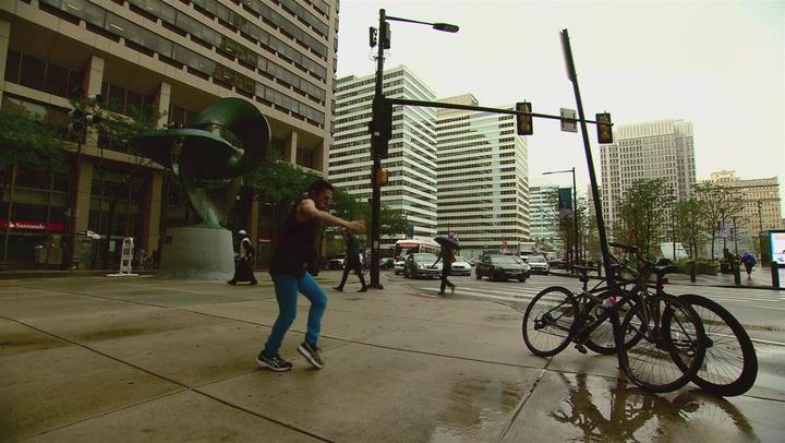Rogelio Dances His Way Around Philly