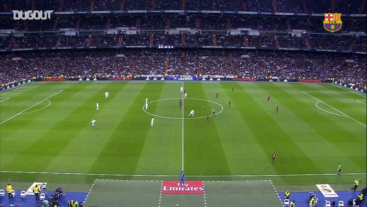 Throwback: Real Madrid 0-4 Barça 2015