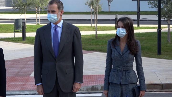 Los reyes Felipe y Letizia inauguran el Hospital Universitario de Toledo