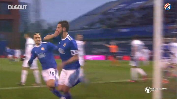 Dinamo Zagreb hit four past Rijeka