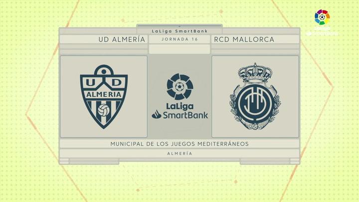 LaLiga Smartbank (Jornada 16): Almería 0-1 Mallorca