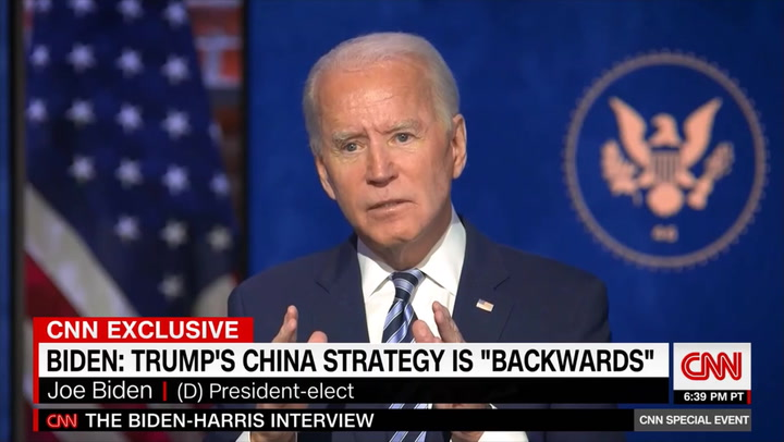 Biden on China: 'It's Not About Punishing Them' for COVID, It's Getting Them to Follow International Norms