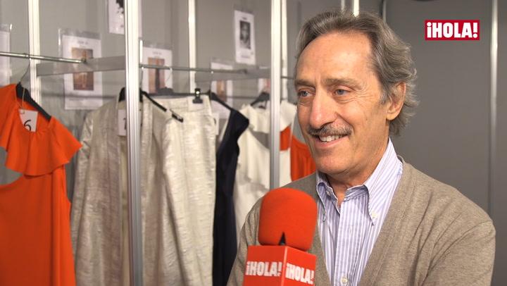 Roberto Torretta: \'Los volantes y los nudos son el hilo conductor presente en la colección\'