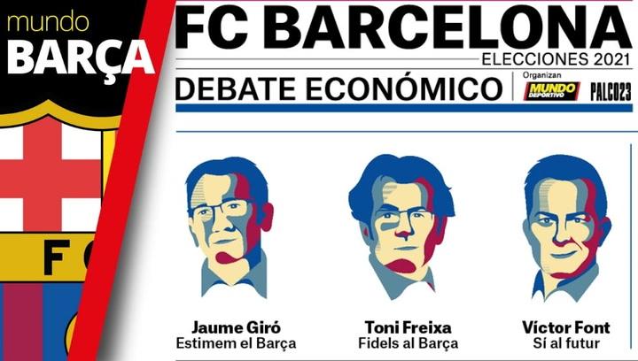 Debate económico para las Elecciones del FC Barcelona 2021
