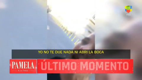 Una chica trans agredió a Juanita Viale en la calle