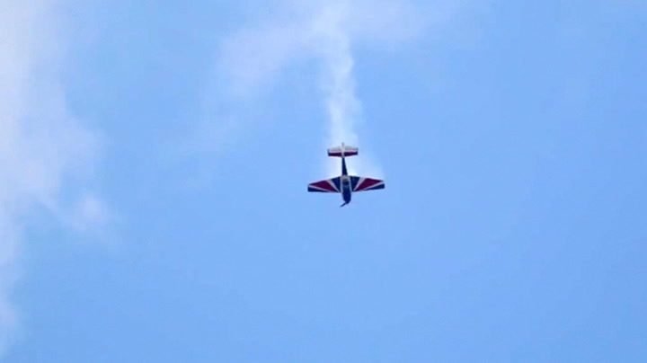 Flyver styrtet i døden under flyshow i Wisconsin