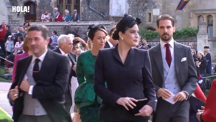 Liv Tyler arrives at Princess Eugenie\'s wedding