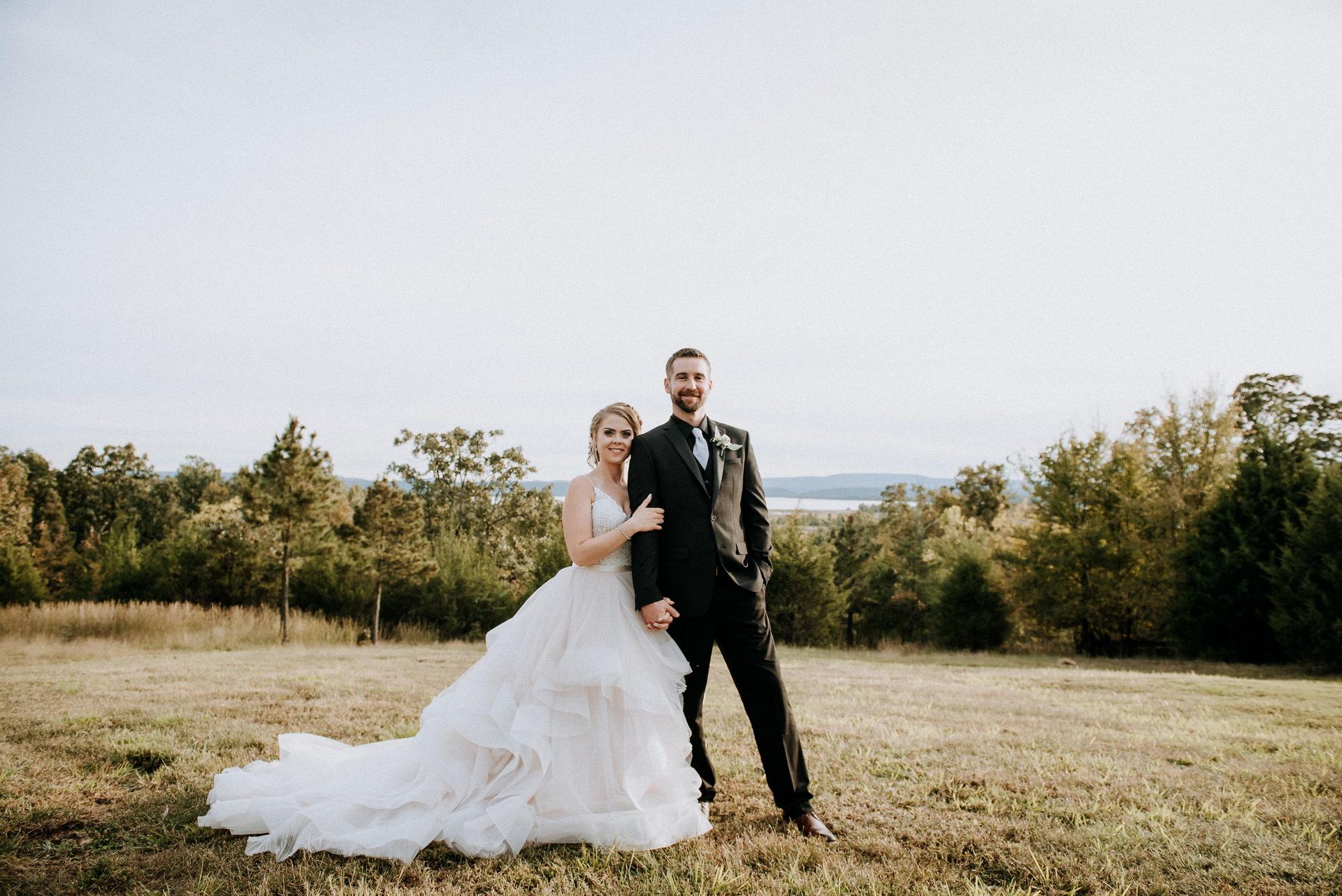 Miranda + David | Lamar, Arkansas | Cabin creek lookout