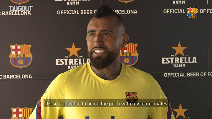 Arturo Vidal: 'There are 11 finals left'