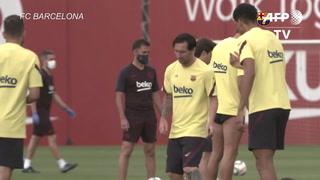 Los equipos españoles de fútbol vuelven a entrenar de forma colectiva