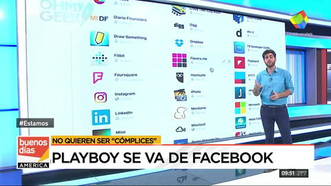 Playboy se borró de Facebook para no ser cómplices