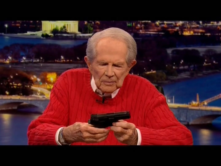 Pat Robertson on Mistaking Glock for Taser: 'We Don't Have the Finest in the Police Department'