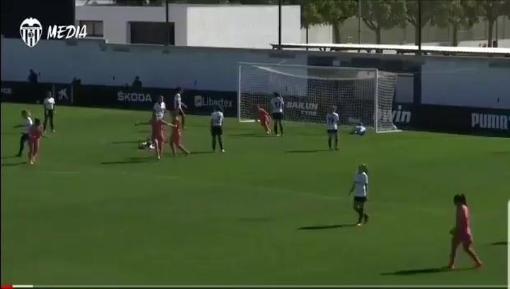 Kosovare Asllani marca el histórico primer gol del Real Madrid en la Liga Iberdrola