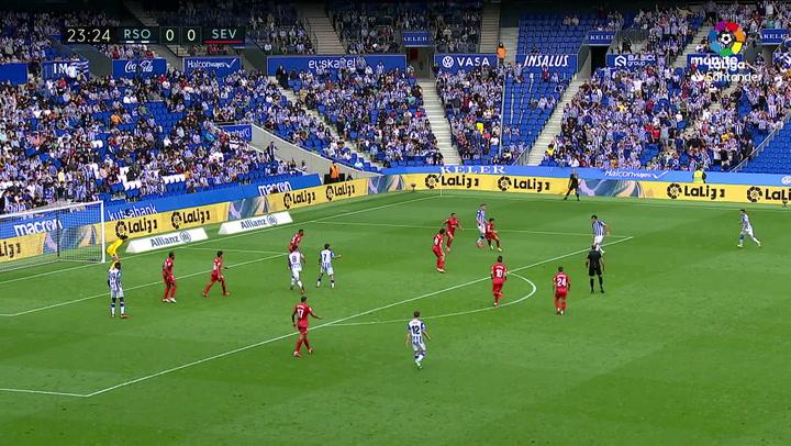 Así fue la polémica mano de Diego Carlos: ¿de verdad eso es penalti?