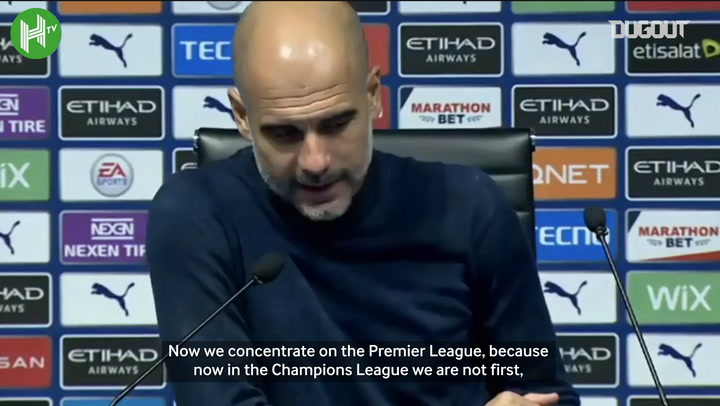 Guardiola: Burnley win is just one game
