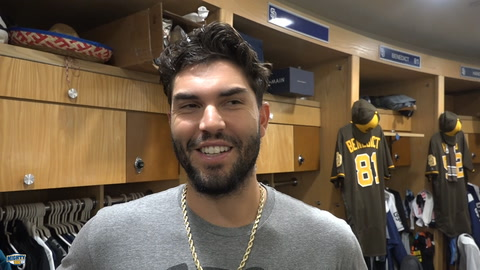 Eric Hosmer On Padres First Half & if he wants DH in NL