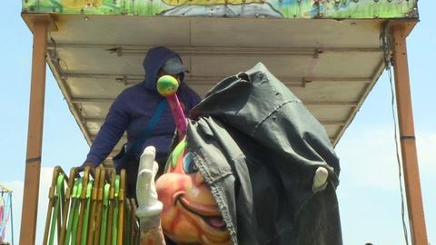 Ferias populares mexicanas, una alegría que silencia la pandemia